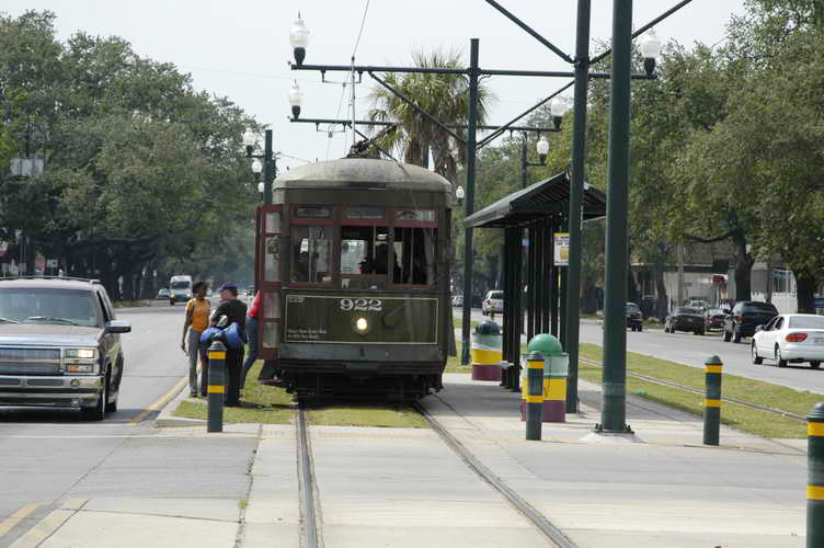 Street Car New Orleans St Charles Line Run Times