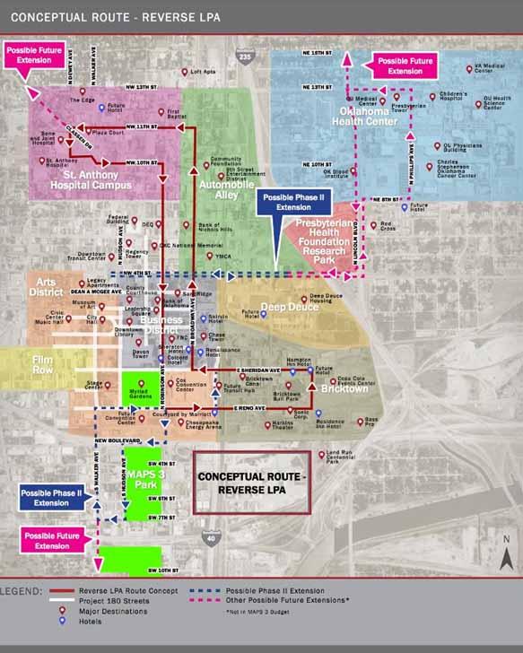 Map Of Bricktown Okc Images